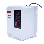 Стабилизатор напряжения PowerMan AVS-500P (500 ВА, 2 розетки, электромеханический)