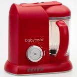 пароварка электрическая Beaba Babycook Solo (блендер), красная
