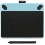 планшет для рисования WACOM Intuos Draw Pen Small (CTL-490DB-N), голубой