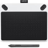 планшет для рисования WACOM Intuos Draw Pen Small (CTL-490DW-N), белый