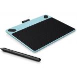 планшет для рисования WACOM Intuos Comic Pen & Touch Small (CTH-490CB-N), голубой