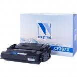 картридж для принтера NV-Print совместим с HP LJ Enterprise CF287X, черный
