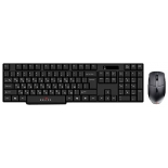 комплект Oklick 200 M Wireless Keyboard Optical Mouse Black USB
