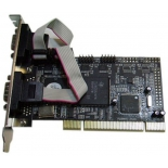 контроллер (плата расширения для ПК) STLab I-430 (PCI - 4xCOM)