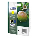 картридж Epson Т1294 Яблоко Yellow