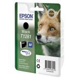 картридж для принтера Epson T1281 черный