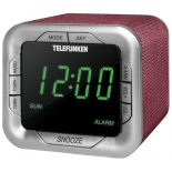 Радиоприемник Telefunken TF-1505 Burgundy/Green
