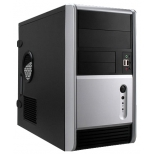 корпус Inwin EMR006 450W черно-серебристый