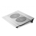 подставка для ноутбука DEEPCOOL N8 (охлаждающая, 17''), серебристая