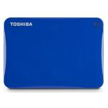 жесткий диск Toshiba Canvio Connect II 500GB, синий