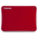 жесткий диск Toshiba Canvio Connect II 500GB, красный
