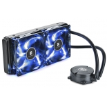 кулер компьютерный Deepcool Maelstrom 240T (синяя подсветка)