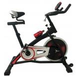 велотренажер DFC VT-8301, черно-красный