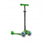 самокат для взрослых Y-Scoo Globber Primo Plus Titanium Neon зеленый