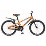 велосипед Novatrack Juster 16 (2016), оранжевый