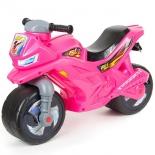 беговел RT Racer RZ 1 ОР501, розовый