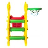 товар для детей Горка RT Бегемот 12-SL с баскетбольной сеткой Geburt