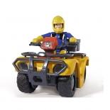 набор игровой для игры на улице Simba Пожарный Сэм (Квадроцикл Меркурий со светом + фигурка)