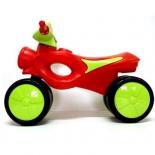 беговел R-Toys Kinder Way (11-008) салатово-красный
