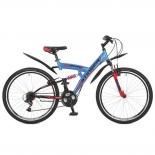 велосипед Stinger 26 Banzai (16 дюйм) синий