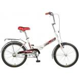 велосипед Novatrack TG30, белый