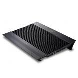 подставка для ноутбука DEEPCOOL N8 (охлаждающая, 17''), чёрная