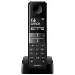 радиотелефон Philips D4501B/51 DECT, Черный