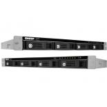 сетевой накопитель QNAP TS-451U (без дисков, 4 отсека, серверное оборудование, 1U)