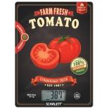 кухонные весы Scarlett SC-KS57P15, рисунок (томат)