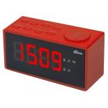 Радиоприемник Радиобудильник Ritmix RRC-1212, красный