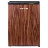 холодильник Shivaki SDR-062T, темное дерево