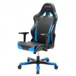 компьютерное кресло Dxracer OH/TS29/NB TANK, черное/голубое