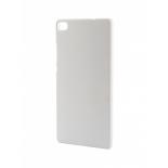 чехол для смартфона Huawei P8 skinBOX, серия 4People, защитная пленка в комплекте, цвет Белый