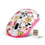 мышка CROWN CMM-926W Cow White-Pink USB
