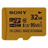 карта памяти Sony Micro SD SR-32MX2A/NT 32Gb (с адаптером)