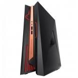 фирменный компьютер Asus ROG GR8 II-T031Z (Core i7 7700/16Gb/1256Gb HDD+SSD/DVD нет/NVIDIA GeForce GTX 1060 3Gb/Wi-Fi/Bluetooth/Win 10 Home), чёрно-золотистый