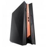 фирменный компьютер Asus ROG GR8 II T114M (Core i7-7700/16Gb/1256Gb HDD+SSD/DVD нет/NVIDIA GeForce GTX1060 3Gb/Wi-Fi/Bluetooth/DOS), чёрно-золотистый