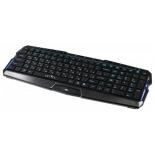 клавиатура Oklick 460M USB slim Multimedia, черная