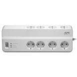 сетевой фильтр APC Essential SurgeArrest PM8-RS (8 розеток, 2 метра), белый