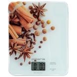 кухонные весы Polaris PKS 0832DG с принтом специи