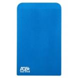 корпус для жесткого диска AgeStar 3UB2O1 (2.5'', microUSB 3.0), синий