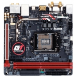 Материнская плата GIGABYTE GA-Z170N-Gaming 5 (rev. 1.0) (mini-ITX, LGA1151, Intel Z170), купить за 11 540руб.