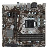 материнская плата MSI B150M PRO-VDH (mATX, LGA1151, Intel B150)