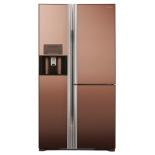 холодильник Hitachi R-M 702 GPU2X MBW, коричневый