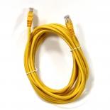 кабель (шнур) AOpen ANP511_5M_Y (UTP, 5e, 5 м), жёлтый