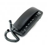 проводной телефон Ritmix RT-100, черный