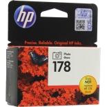Картридж для принтера HP №178 CB317HE, чёрный, купить за 840руб.
