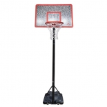 стойка баскетбольная DFC STAND44M, Черно-красная