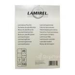 плёнка для ламинирования Lamirel LA-7866201 (А6)