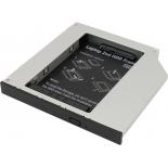корпус для жесткого диска Espada SS12 (2.5''HDD/SATA - SlimDVD/miniSATA)